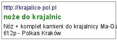 noże do krajalnic